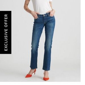Lucky Brand Sweet Straight Ankle Jeans